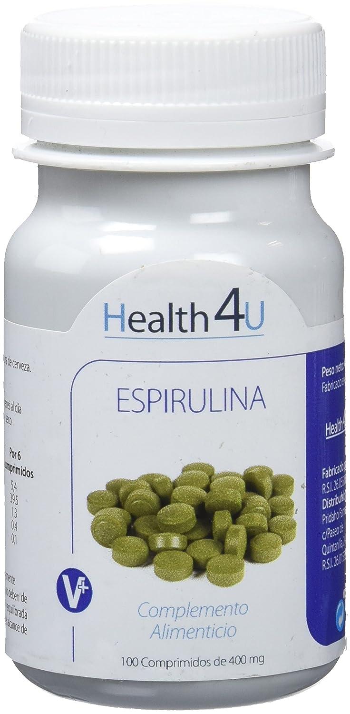 H4U - H4U Espirulina 100 comprimidos de 400 mg: Amazon.es: Salud y cuidado personal