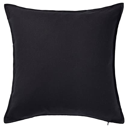 Amazoncom Ikea Pillow Cover Cushion Sleeve 20 X 20 Cotton Black