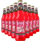 Saranac World Famous Hand-Crafted Shirley Temple Soda Soft Drink, 12 fl oz (12 Glass Bottles)