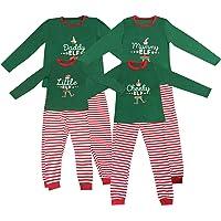 Elf Pijamas Pijama de Navidad Familia Juego el Sistema papá mamá Fresca de pequeños Duendes Hombres Mujeres Niño Niña de…