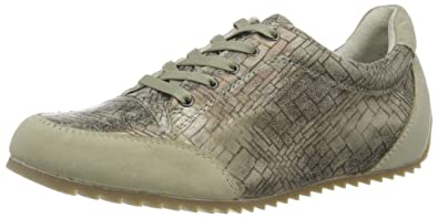 GERRY WEBER Shoes Damen Andia 01 Sneaker, Mehrfarbig (Oliv-Kombi), 39 EU