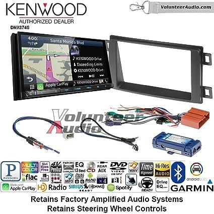 Amazon Com Volunteer Audio Kenwood Dnx874s Double Din Radio Install