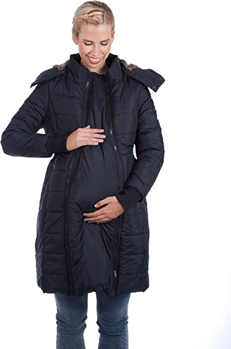421a50bd6499a Modern Eternity Maternity Coat 3 in 1 Technology XS Black Puffer at ...