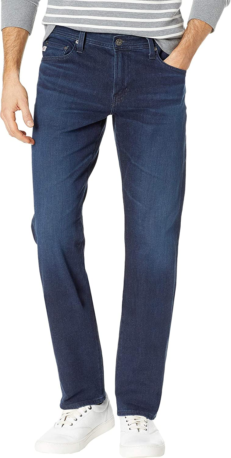 AG Adriano Goldschmied Mens Graduate Tailored Leg Denim Jeans in Equation