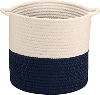 "product image for Colonial Mills Craftworks Basket, 16""x16""x16"", Navy"