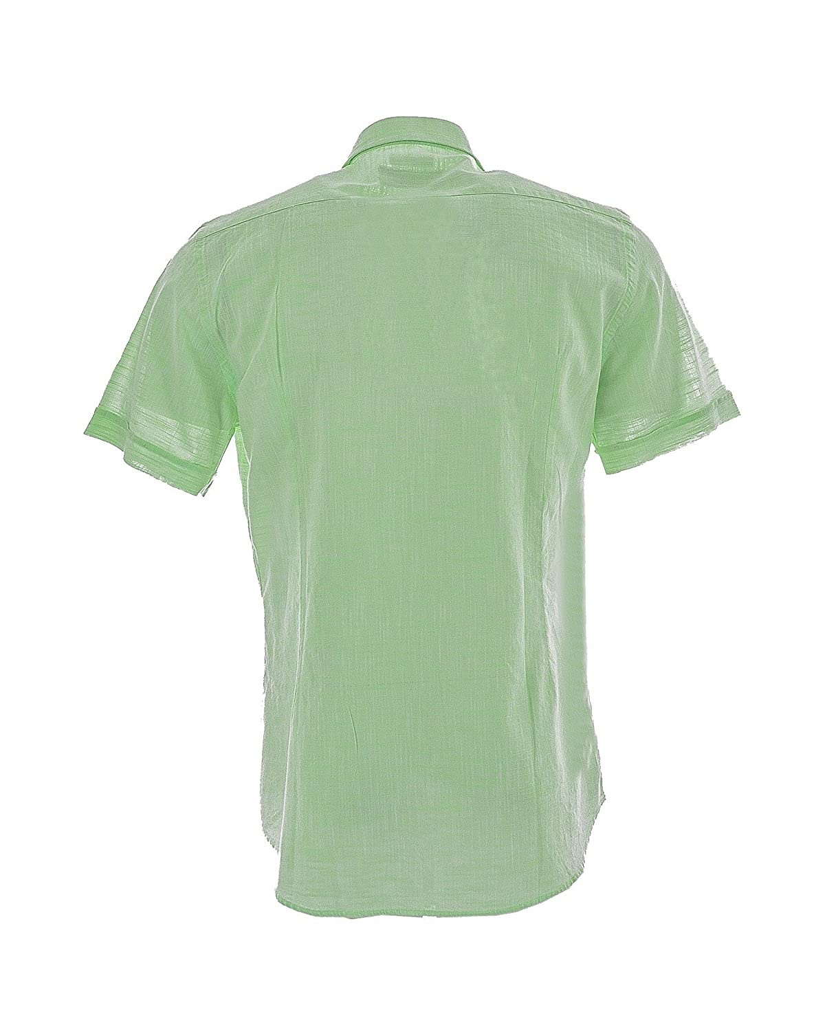 Fred Perry - Camisa Formal - para Hombre Verde X-Large: Amazon.es ...