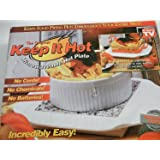 The Original Keep It Hot Microwaveable Hot Plate