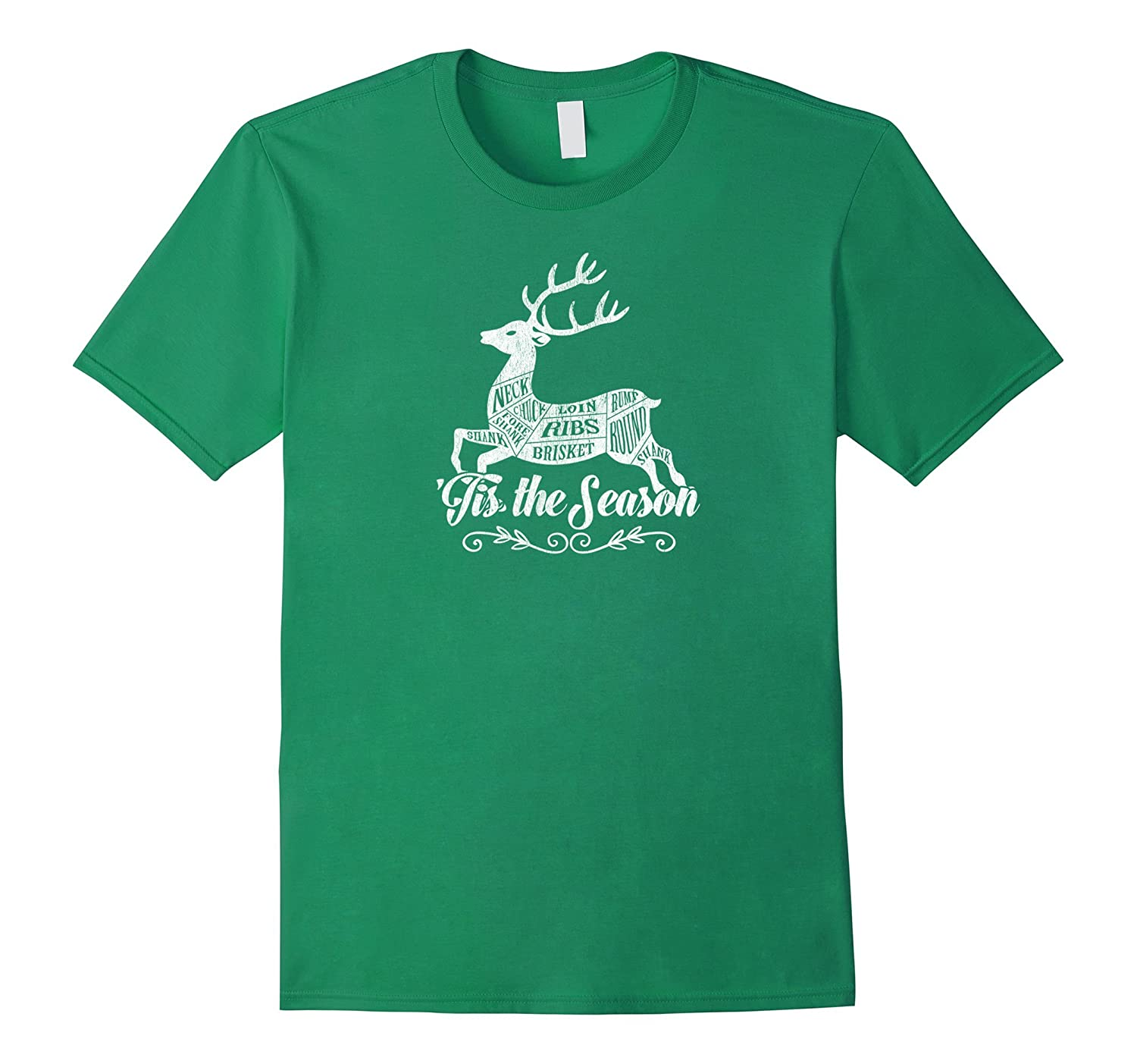 'Tis the Season Christmas Tshirt Great Gift for Hunter