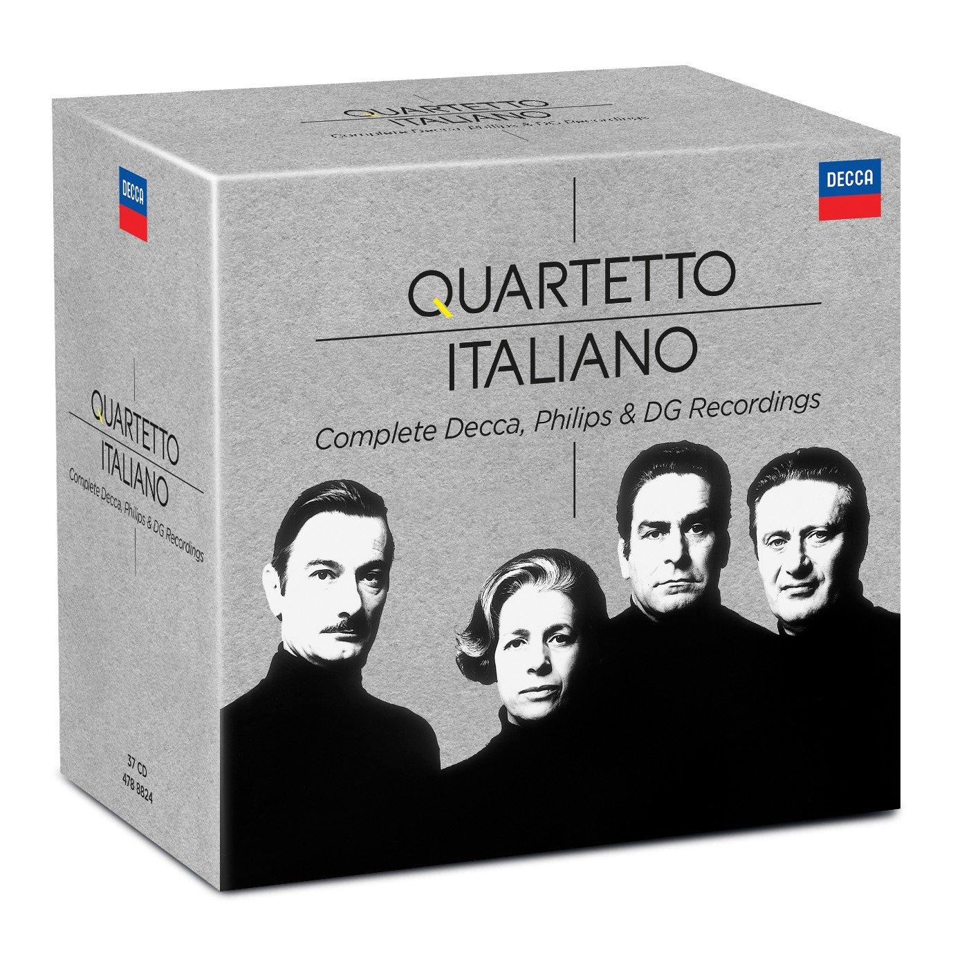 Quartetto Italiano - Complete Philips & Decca Recordings [37 CD][Limited Edition]
