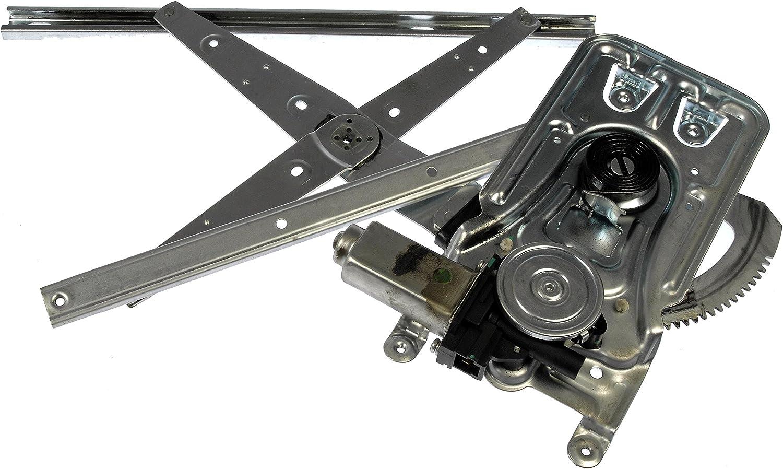 Dorman 741-554 Front Driver Side Power Window Regulator and Motor Assembly for Select Chrysler / Dodge Models
