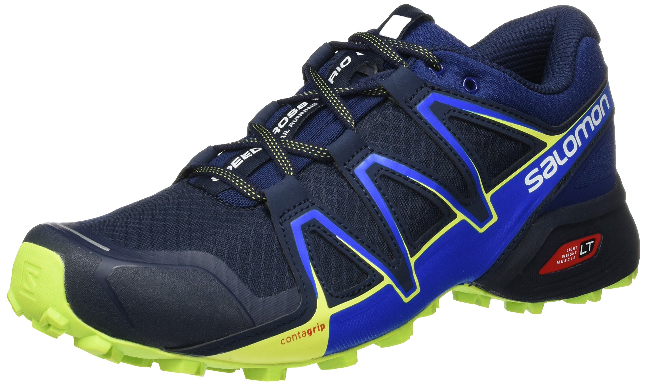 Salomon Men's Speedcross Vario 2 Trail-Runners, Navy Blazer, 9.5 M US
