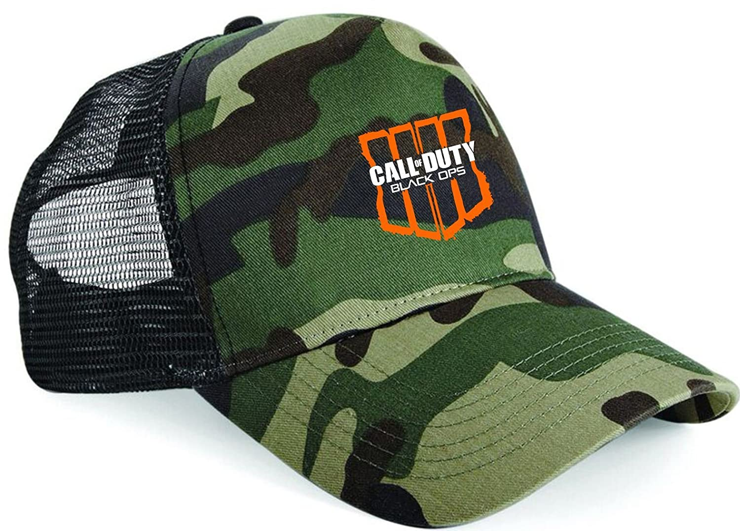 Taurus Clothing COD Black Ops 4 gaming gamers Camo Trucker Cap PS4 XBOX