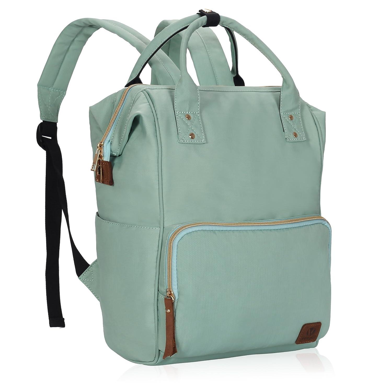 Veegul Wide Open Multipurpose School Backpack Lightweight Travel Bag 18L Black VG0836-1