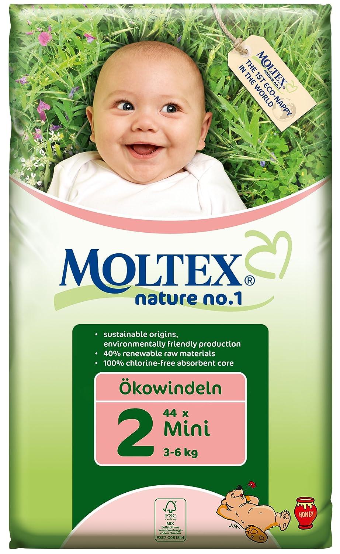 Moltex - Nature - Pañales ecológicos - Talla 4 (7 - 18 kg) - 74 pañales: Amazon.es: Salud y cuidado personal