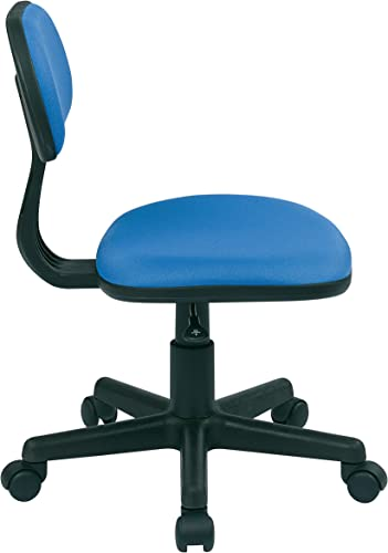Office Star One Touch Pneumatic Seat Height Adjustment Task Chair, Pink