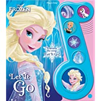 Image for Disney Frozen Elsa, Anna, Olaf, and More! - Let It Go Little Music Note Sound Book - PI Kids (Play-A-Song)