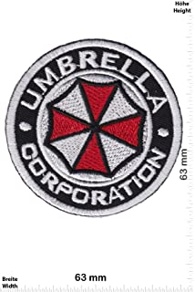 Parches - Umbrella Corporation - round - Movie - Iron on Patch -Parche Termoadhesivos Bordado