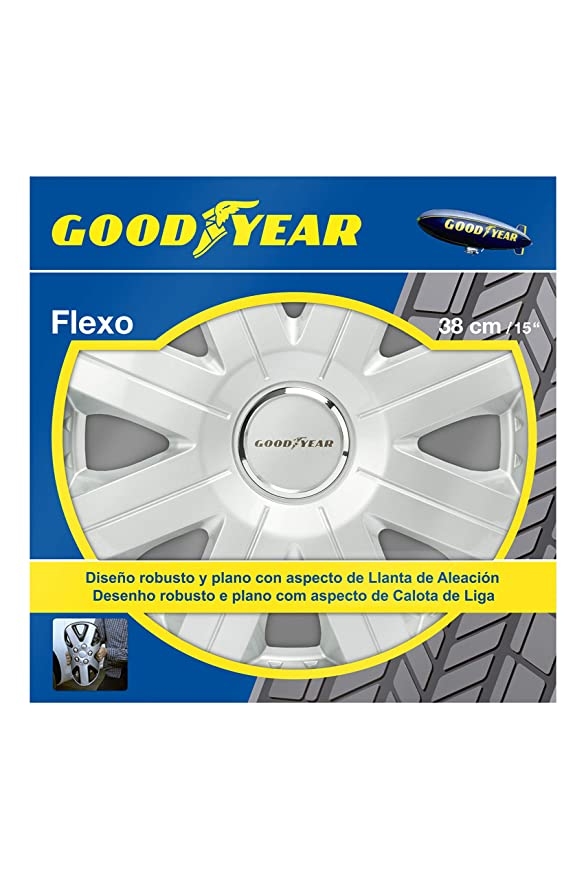 Amazon.com: Good Year GOD9028 - Set of 4 Universal Hubcap-Car Wheel ...