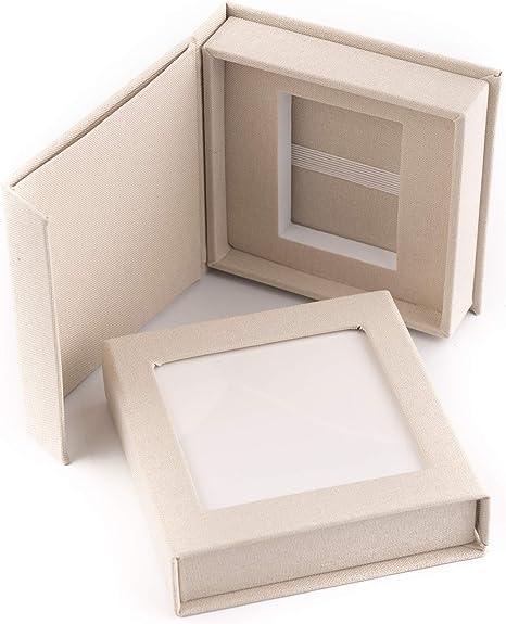 codiarts. usb-Box01 - Caja con Funda de Tela y Ventana para ...