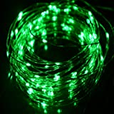 Amazon Price History for:HAHOME Waterproof Led String Lights,33Ft 100 LEDs Indoor and Outdoor Starry Lights with Power Supply for Christmas Wedding and Party Decoration,Green