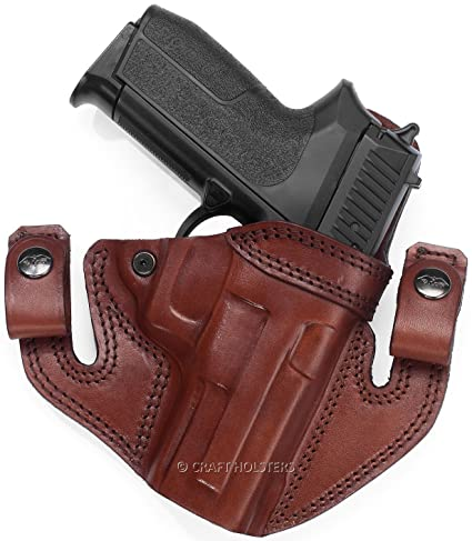 Amazon com : Walther PPS M2 Leather IWB/OWB Holster : Sports
