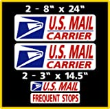 U.S. Mail Delivery Magnetic Sign Rural Carrier