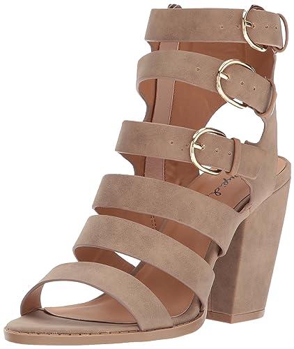 826edc06ea84 Qupid Women s LOST-13X Heeled Sandal