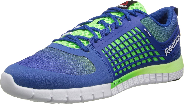 Amazon Com Reebok Men S Zquick Electrify Running Shoe Fashion Sneakers
