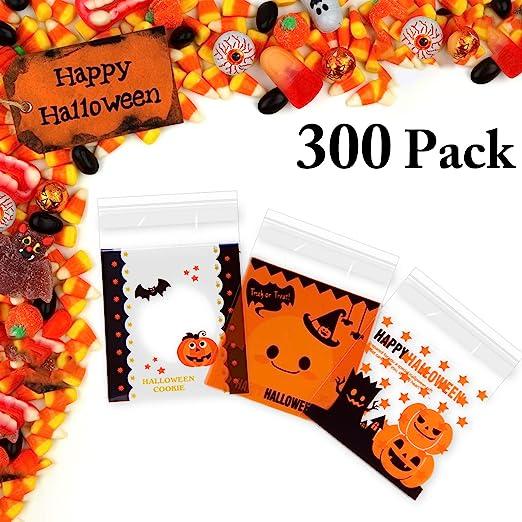 JUSTDOLIFE 300 Pedazos Bolsa De Golosinas De Halloween El ...