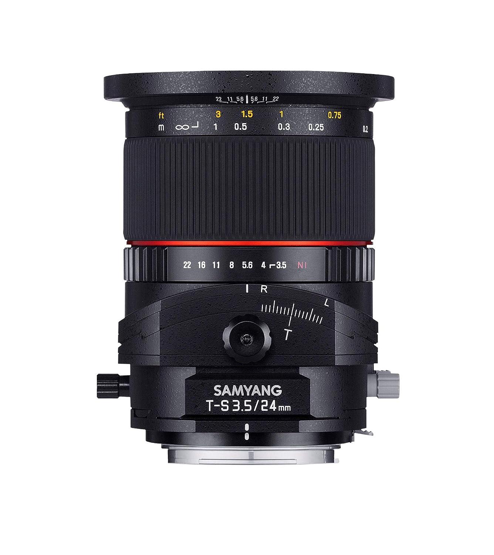 SAMYANG 単焦点広角ティルトシフトレンズ 24mm F3.5 キヤノン EF用 フルサイズ対応 キヤノン EF  B00CRAE9MQ