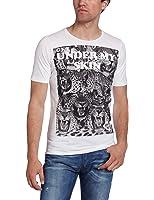 Diesel T-Shirt Tapis Blanc