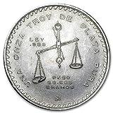 1982 MX - Present Mexico 1 oz Silver Onza Balance