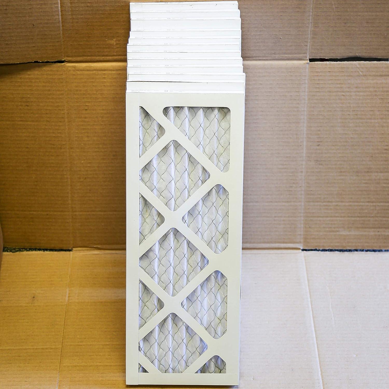 MERV 8 AIRGUARD Air Filter MX40 SP1-SNG 8x21x1 Inch 12 PCS//CTN