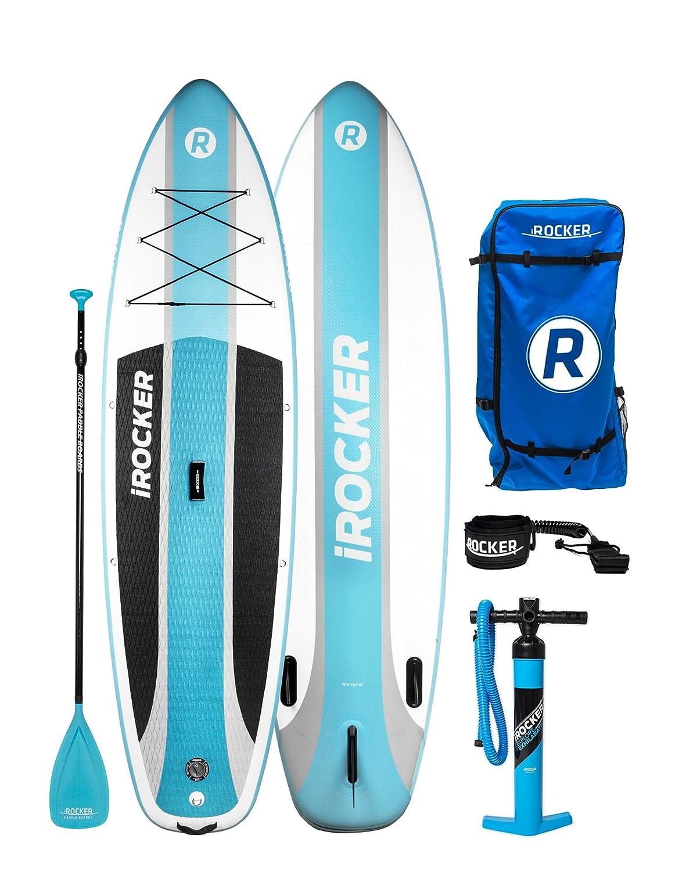 Paquete SUP de tabla de surf de remo hinchable iROCKER ...