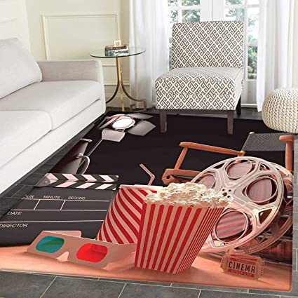 Movie Theater Dining Room Home Bedroom Carpet Floor Mat Objects Of The Film Industry Hollywood Motion