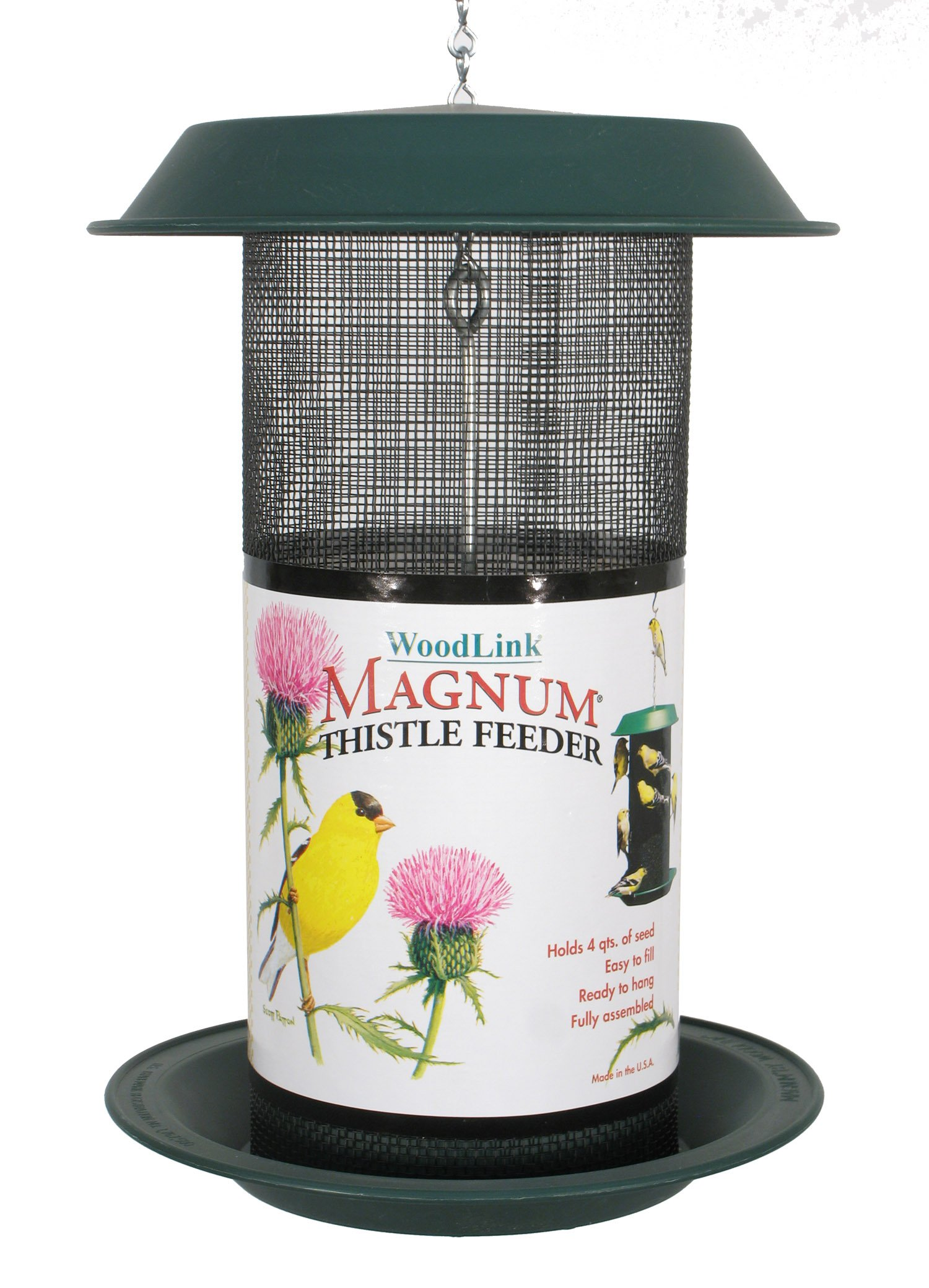Woodlink Magnum Thistle Feeder Model MAG2 by Woodlink