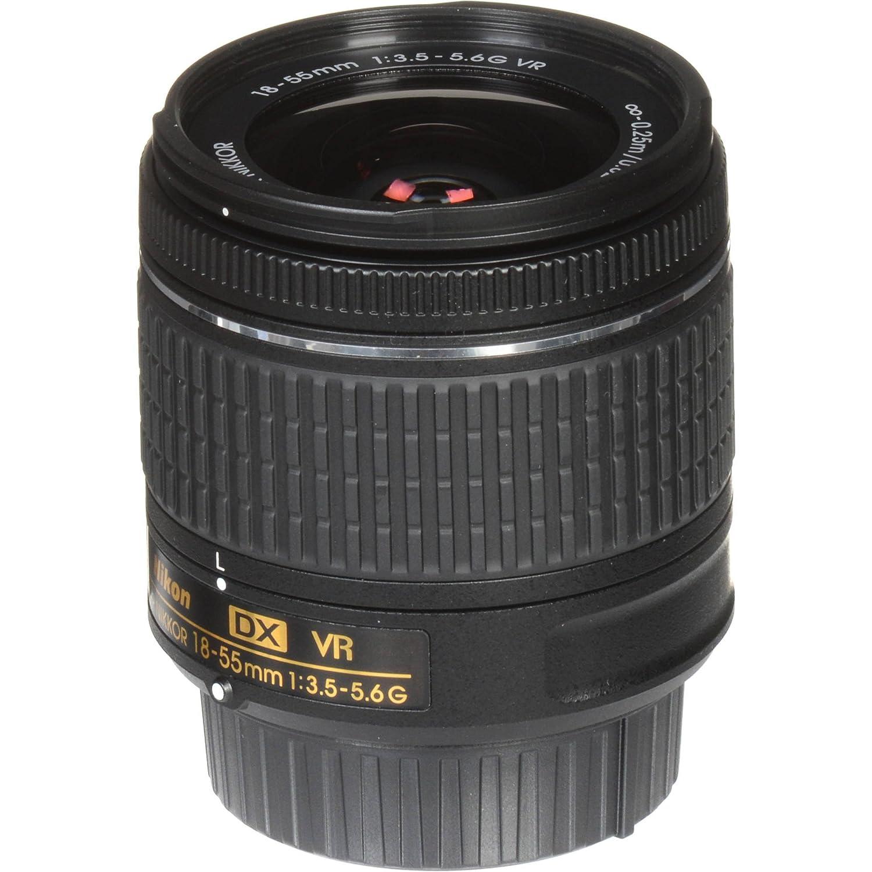 Nikon AF-P DX Nikkor 18 - 55 mm f/3.5 - 5.6 G VR Lente para 2013 y ...