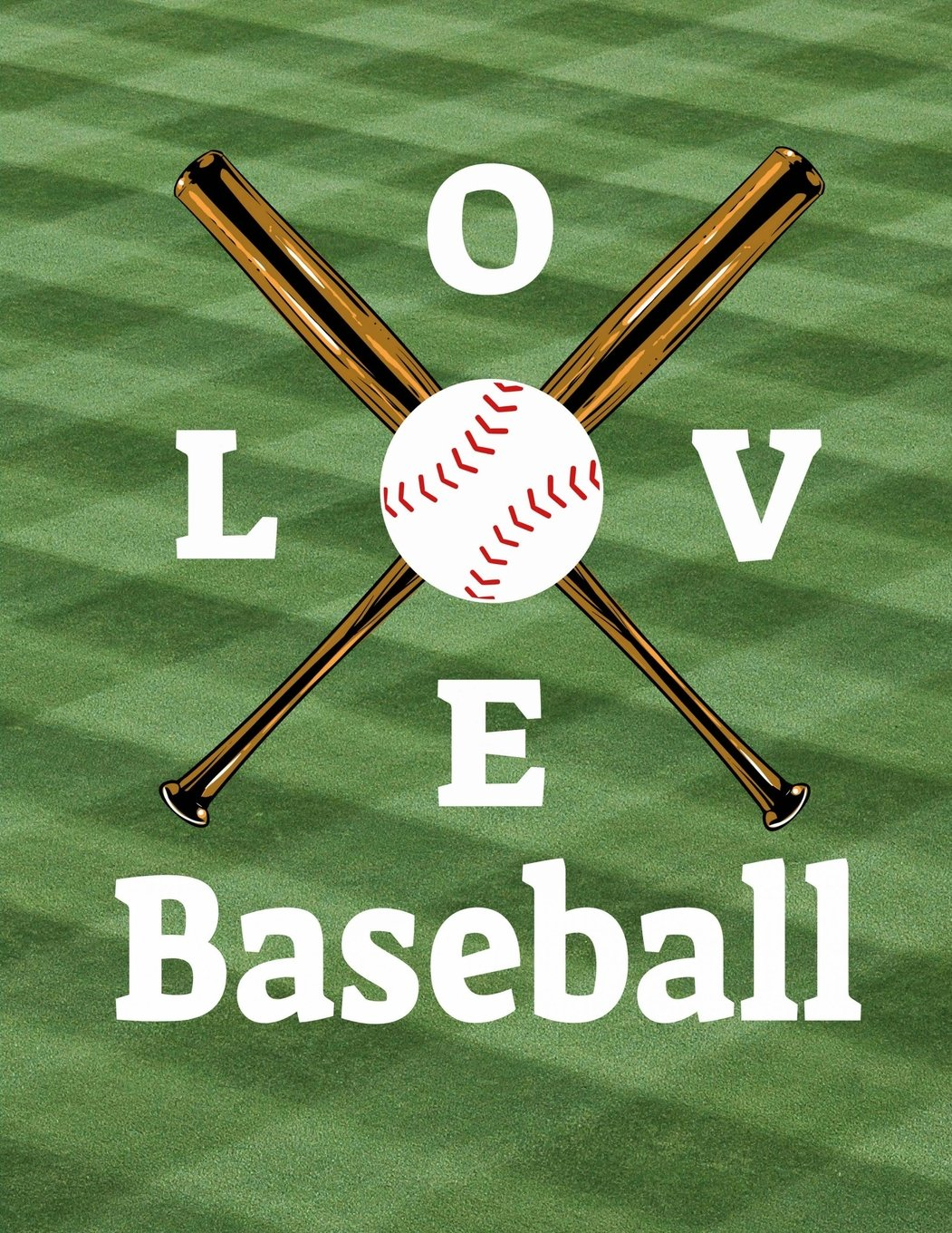 """Baseball I Love Baseball Notebook: Journal for School Teachers Students Offices - Wide Ruled, 200 Pages (8.5"""" x 11"""") PDF"""