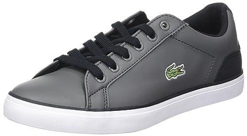 Lacoste Lerond 417 2 CAJ, Zapatillas Unisex Niños, Gris (Dk Gry), 35 EU: Amazon.es: Zapatos y complementos