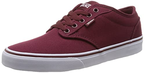 Vans Atwood1, Men's Low-Top Sneakers, Red (Canvas/windso),