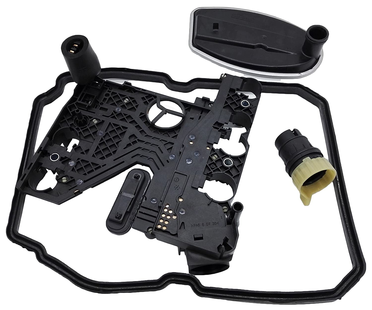 Transmission Conductor Plate Kit with Connector Filter Gasket for Mercedes 722.6 5-Speed Automatic