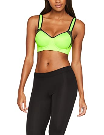 IRIS & LILLY Women's Sports Bra with Padded Cups Free Shipping Marketable Fast Delivery For Sale Inexpensive Sale Online WvWcFJrd
