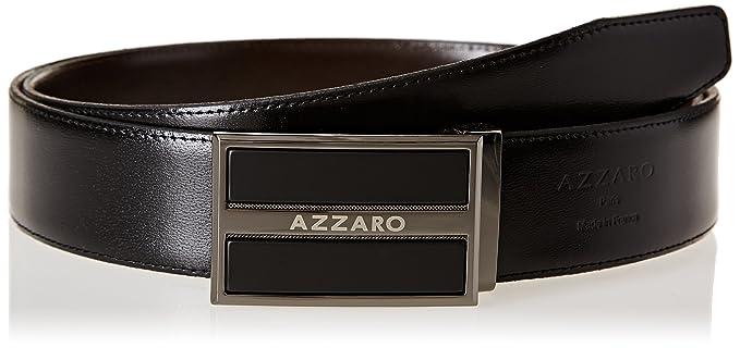 Azzaro Z1391142 - Ceinture - Homme - Multicolore (Noir Marron) - FR ... 4689ad429d5