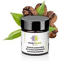 Lugnande och regenererande ögonkräm apa brödträd med kaffe   30 ml   Vegan   kaffe och apa bröd extrakt   För känslig…