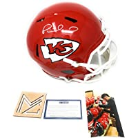 $299 » Patrick Mahomes Kansas City Chiefs Signed Autograph Speed Full Size Helmet Steiner Sports Certified