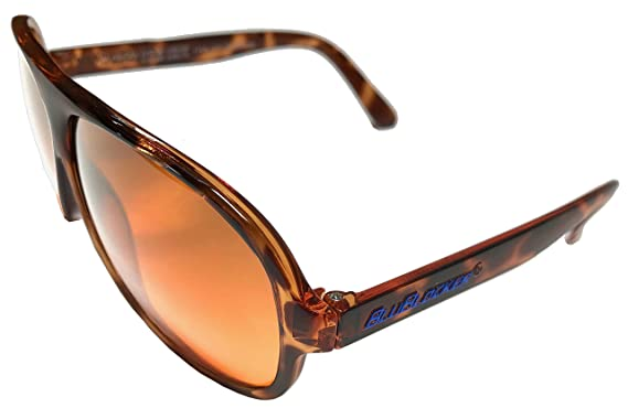 ed93f2a0e9 Image Unavailable. Image not available for. Color  Polarized Demi-Tortoise  Aviator BluBlockers ...