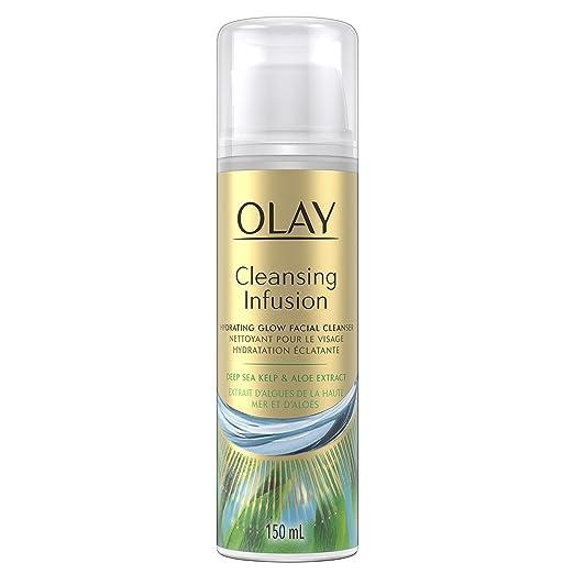 Amazon.com: Olay limpieza limpiador facial de infusión con ...
