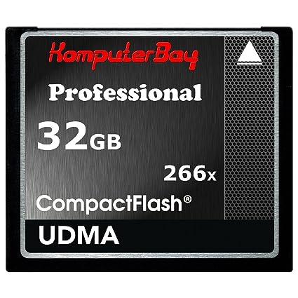 Komputerbay KB_32GBCF_266X - Tarjeta de memoria de alta velocidad ...