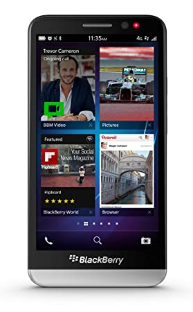 8885139e220 Blackberry Z30 Sim Free Smartphone - Black: Amazon.co.uk: Electronics