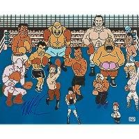 $124 » Autographed Tyson Photograph - Nintendo Punch Out 16x20 Exclusive Hologram #3 - Autographed Boxing Photos